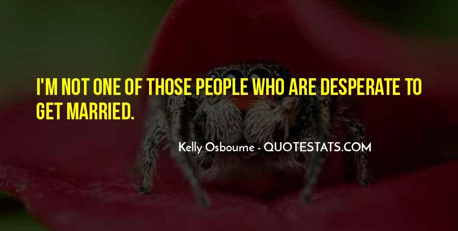 Kelly Osbourne Quotes #97573