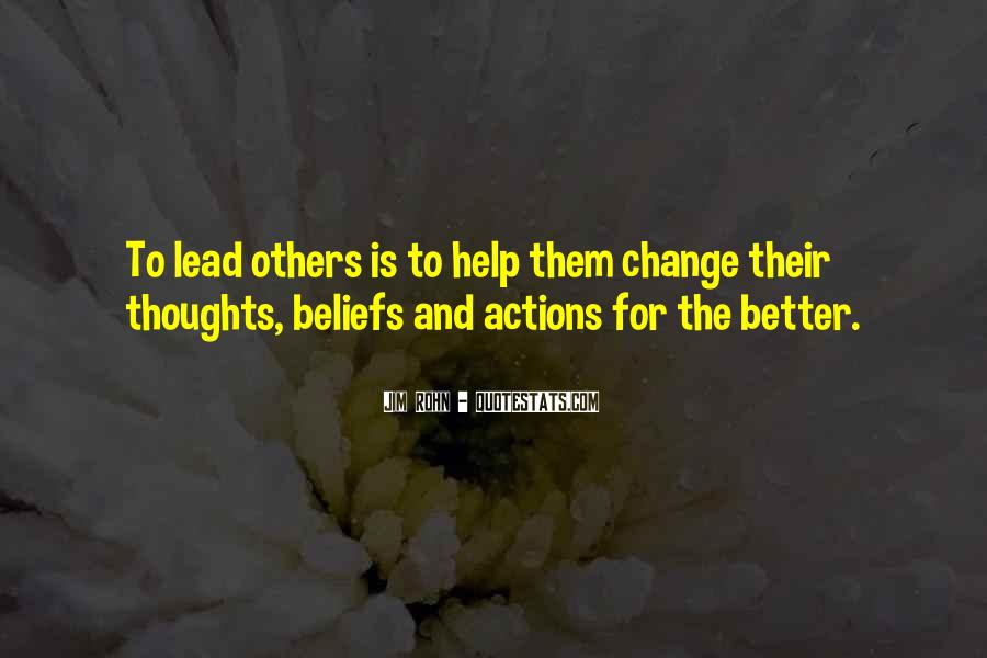 Quotes About Beliefs And Actions #1047893