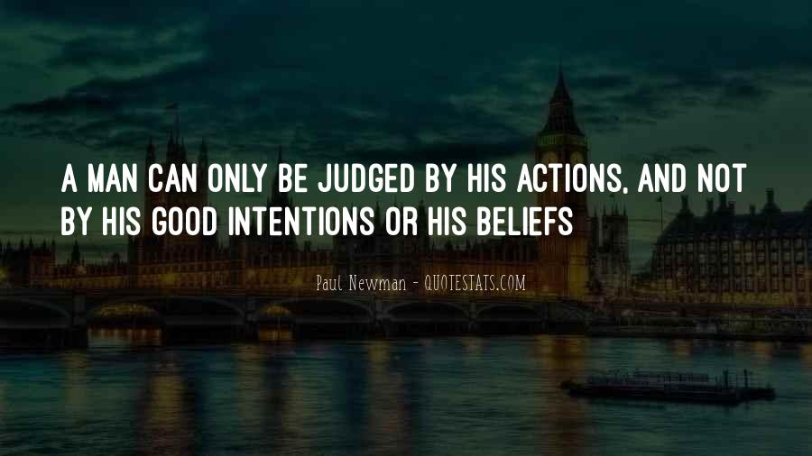 Quotes About Beliefs And Actions #1602448