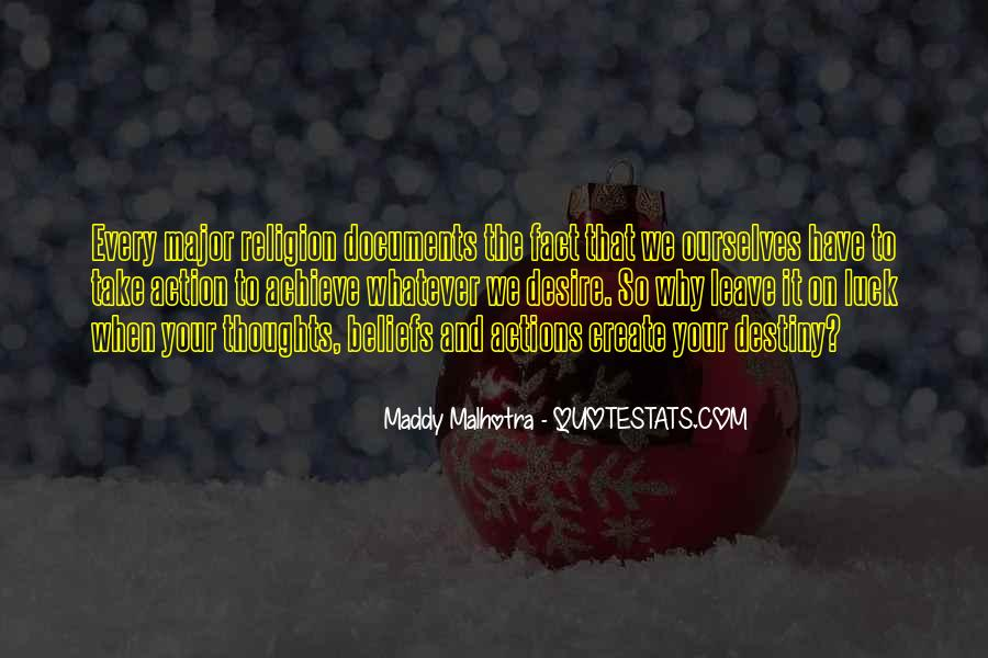 Quotes About Beliefs And Actions #1609323