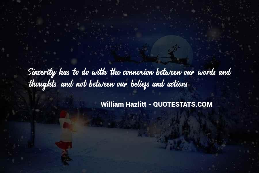 Quotes About Beliefs And Actions #1725256