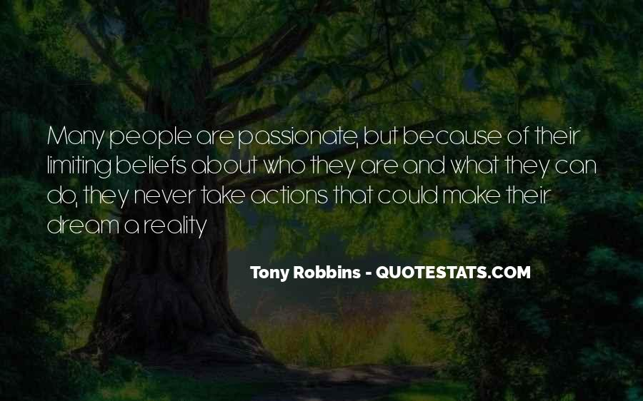 Quotes About Beliefs And Actions #188602