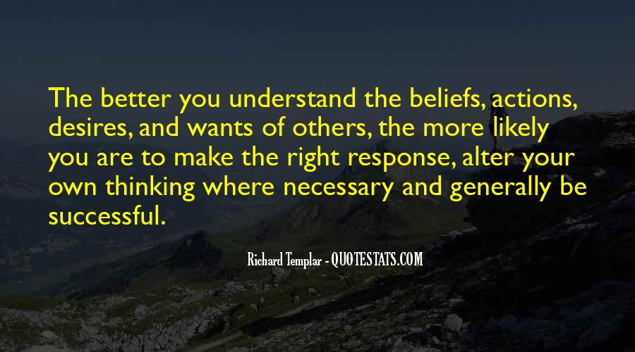 Quotes About Beliefs And Actions #250767
