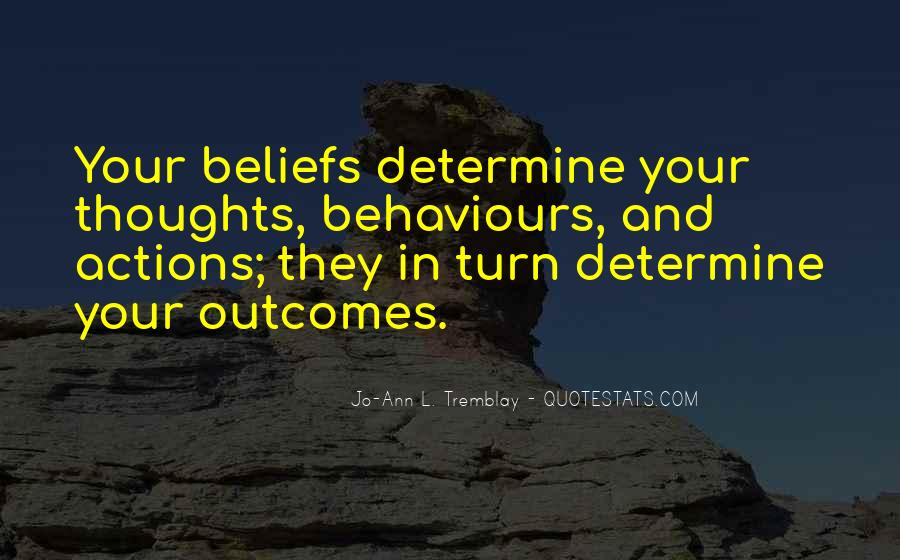Quotes About Beliefs And Actions #346281