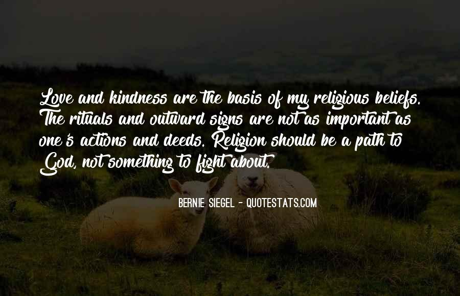 Quotes About Beliefs And Actions #720984