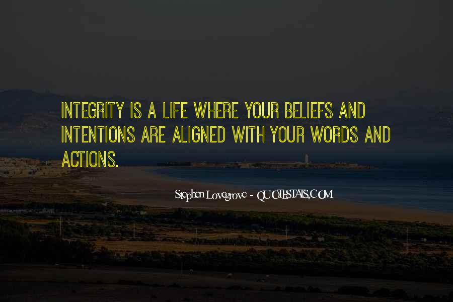 Quotes About Beliefs And Actions #747265