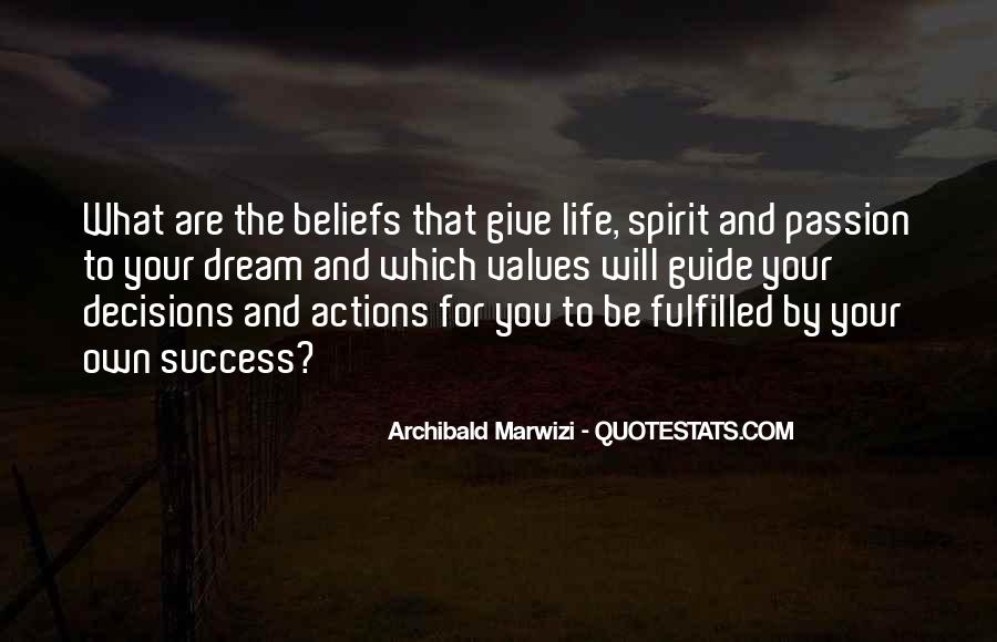 Quotes About Beliefs And Actions #8374