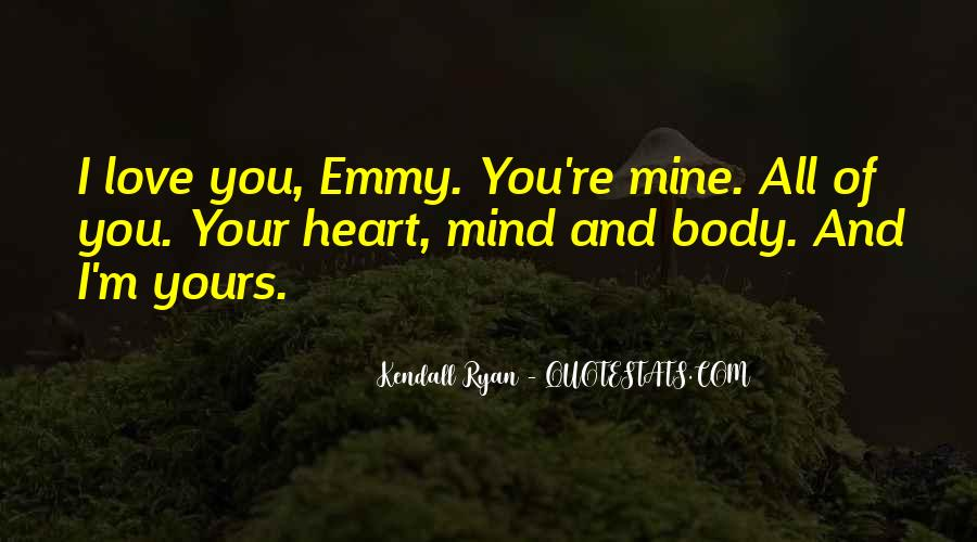 Kendall Ryan Quotes #278018