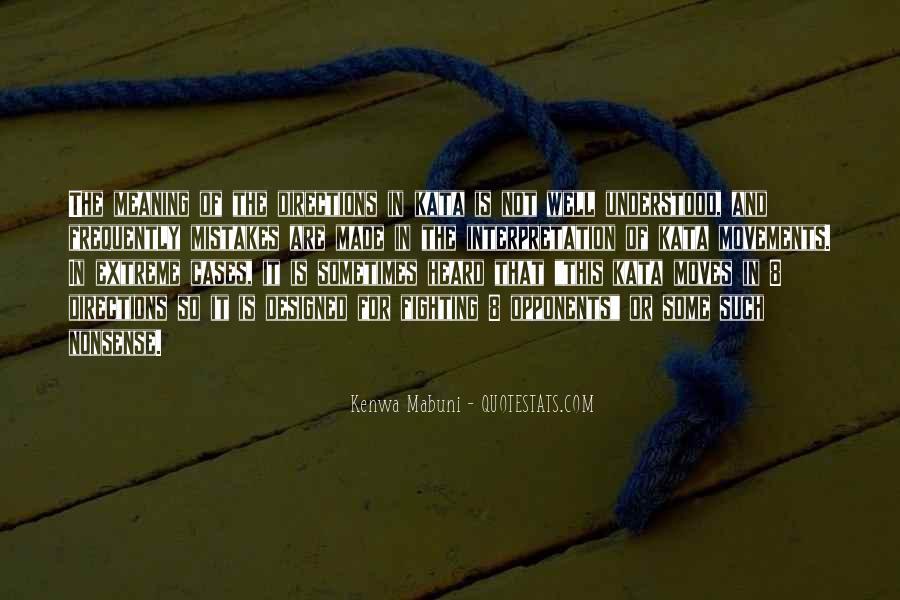 Kenwa Mabuni Quotes #150626