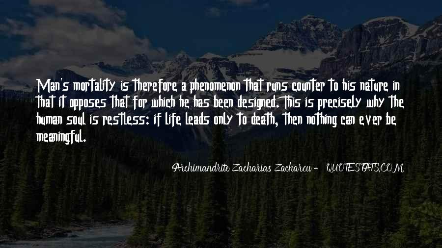 Quotes About Meaningful Death #1344097