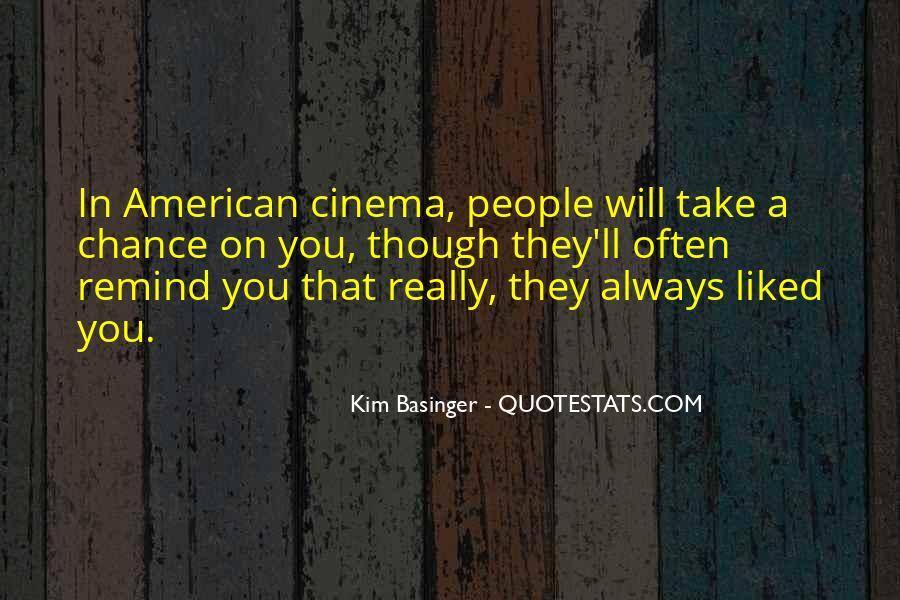 Kim Basinger Quotes #1068298