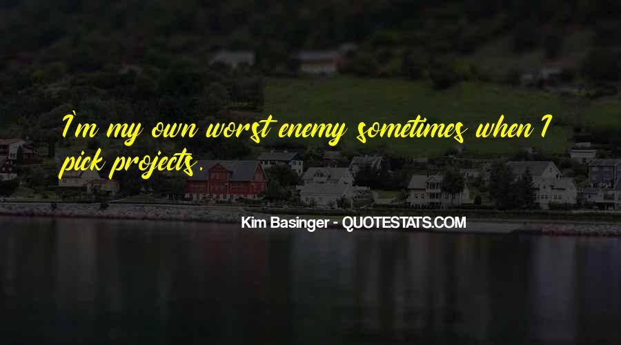 Kim Basinger Quotes #1128408