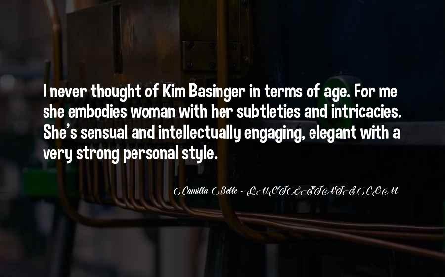 Kim Basinger Quotes #1370951