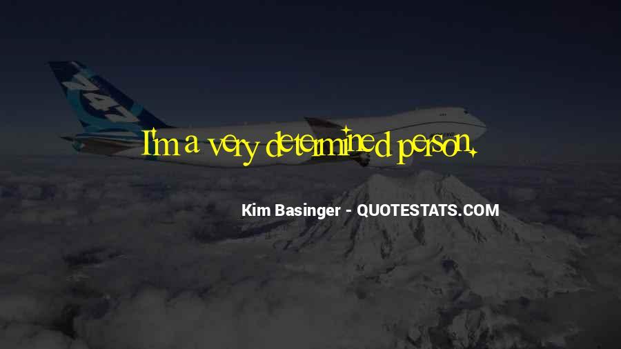 Kim Basinger Quotes #1420592