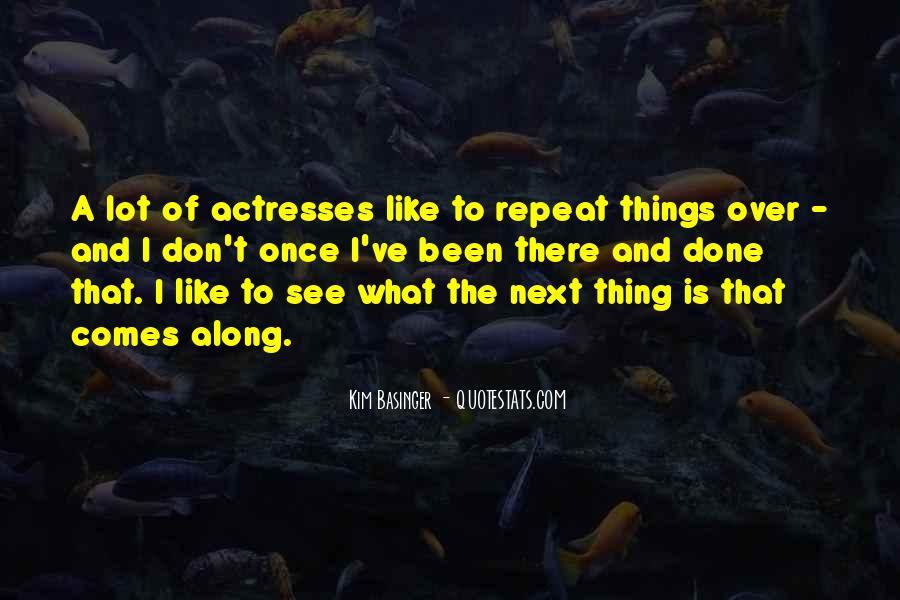 Kim Basinger Quotes #285382