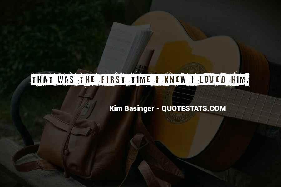 Kim Basinger Quotes #300409