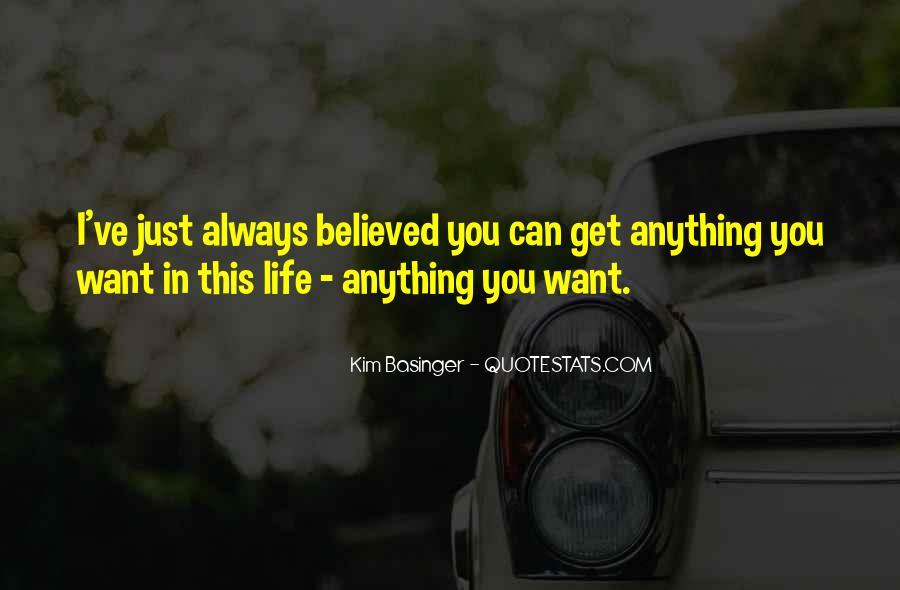 Kim Basinger Quotes #305098