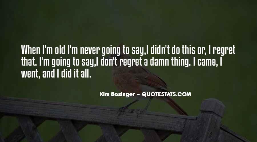 Kim Basinger Quotes #555093
