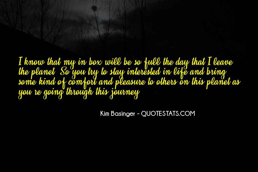 Kim Basinger Quotes #76688