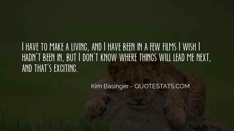 Kim Basinger Quotes #800685