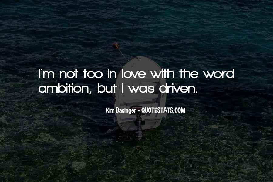 Kim Basinger Quotes #997803