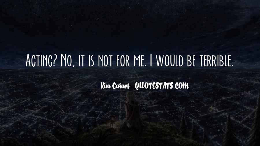 Kim Carnes Quotes #329514