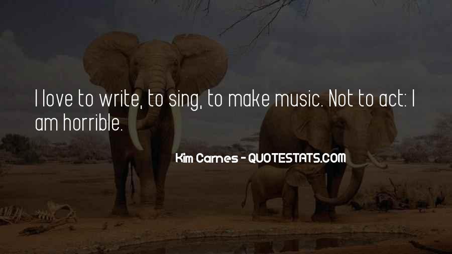 Kim Carnes Quotes #526256