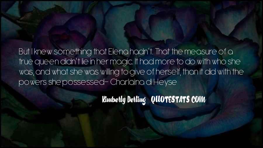 Kimberly Derting Quotes #1605492