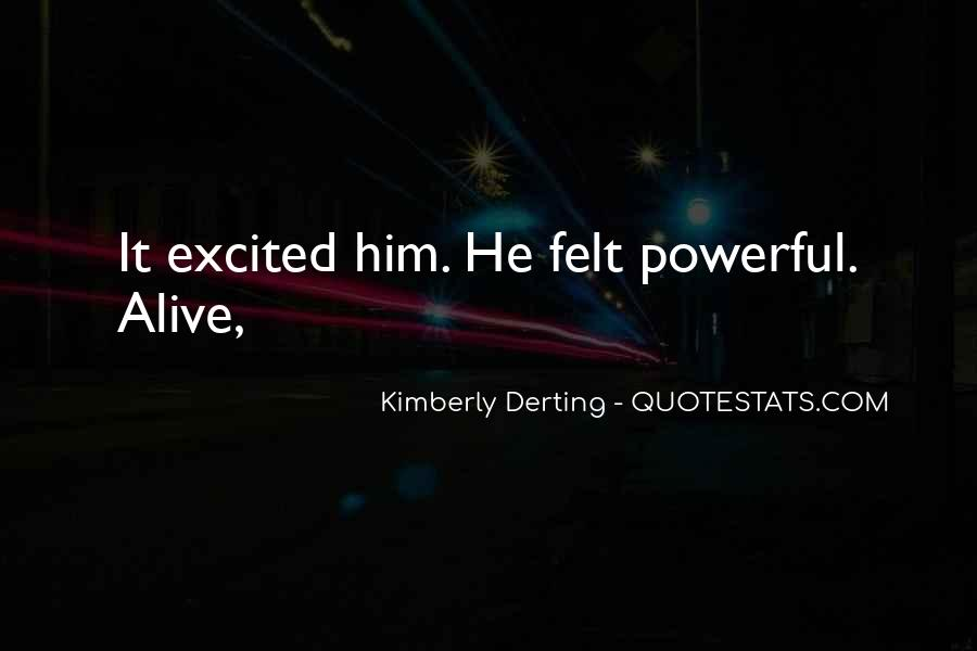 Kimberly Derting Quotes #1811762
