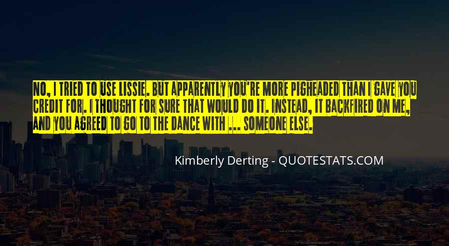 Kimberly Derting Quotes #238503