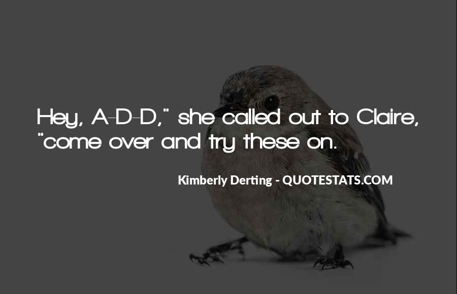 Kimberly Derting Quotes #38100