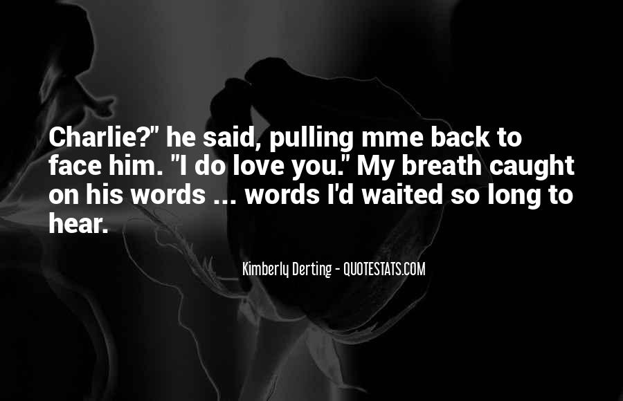 Kimberly Derting Quotes #570692