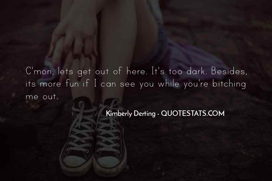 Kimberly Derting Quotes #929158