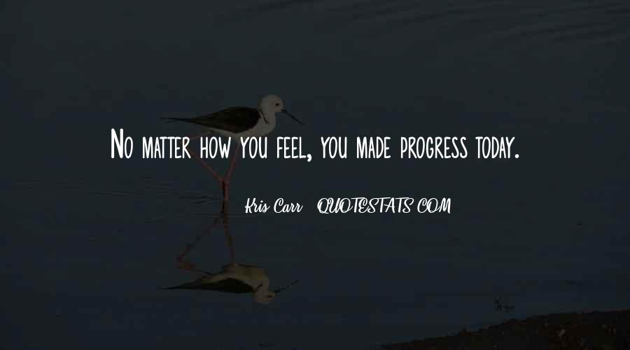 Kris Carr Quotes #362232