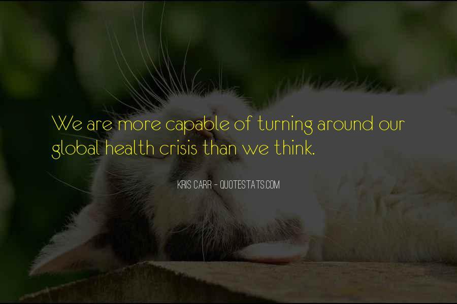 Kris Carr Quotes #590535