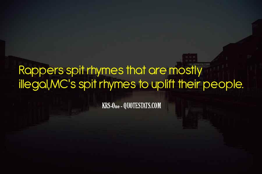 Krs One Quotes #1118534