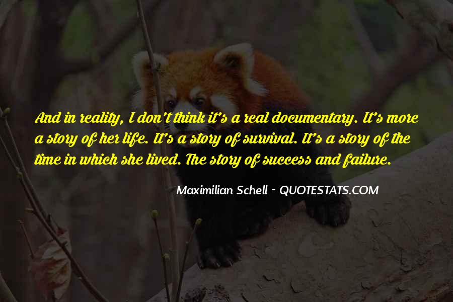 Quotes About Survival In Life #1035482