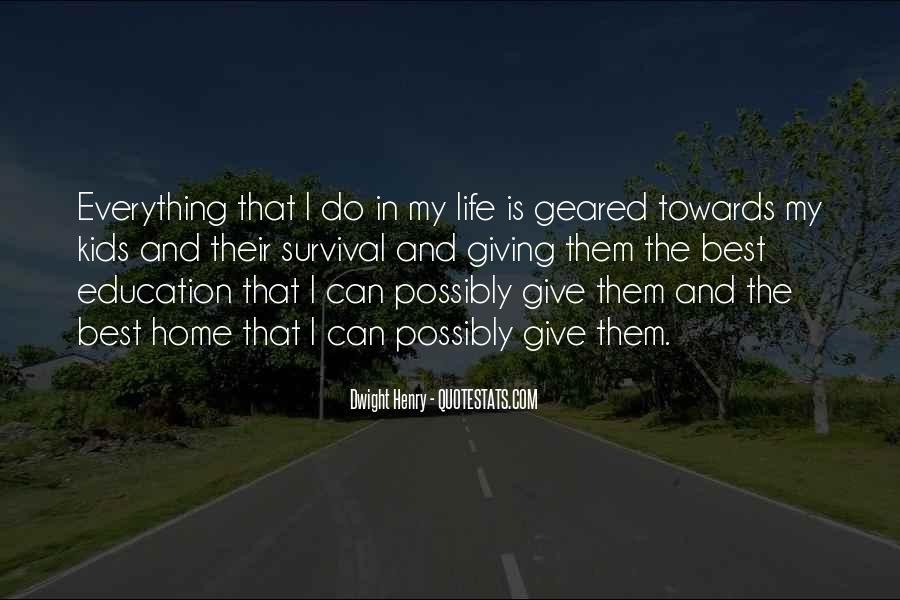 Quotes About Survival In Life #164321