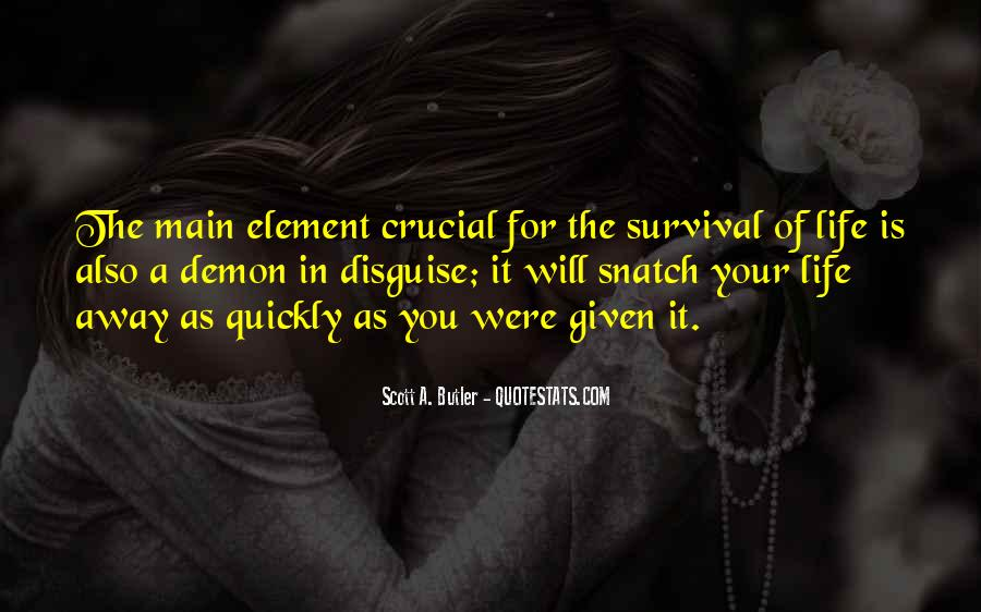 Quotes About Survival In Life #208410