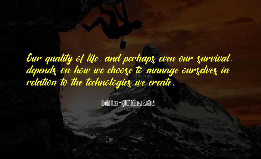 Quotes About Survival In Life #319950