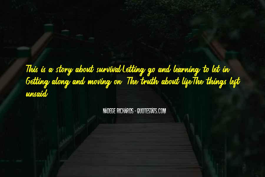 Quotes About Survival In Life #462370