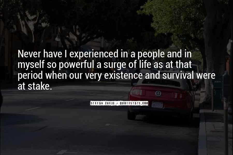 Quotes About Survival In Life #594219