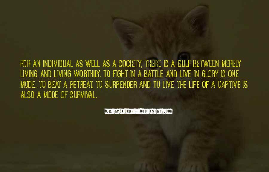 Quotes About Survival In Life #783014