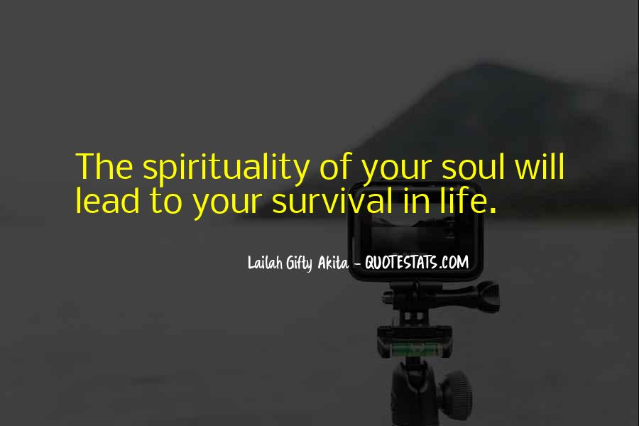 Quotes About Survival In Life #814952