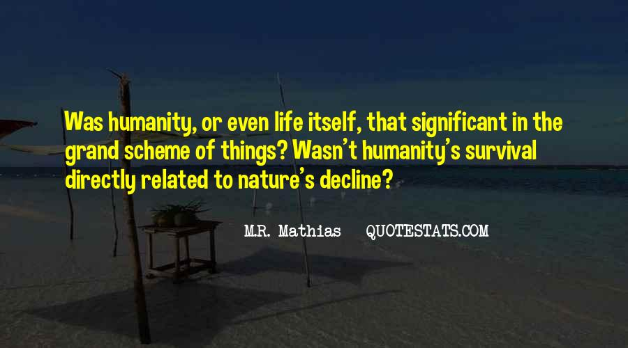 Quotes About Survival In Life #84840
