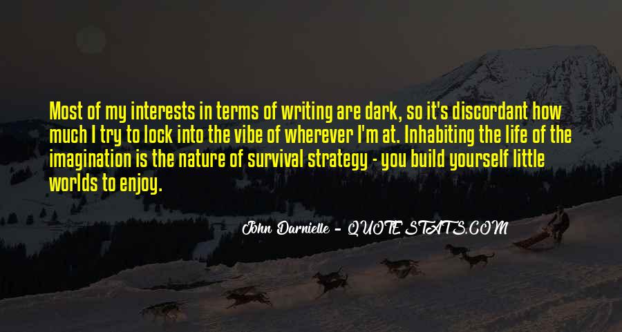 Quotes About Survival In Life #92612