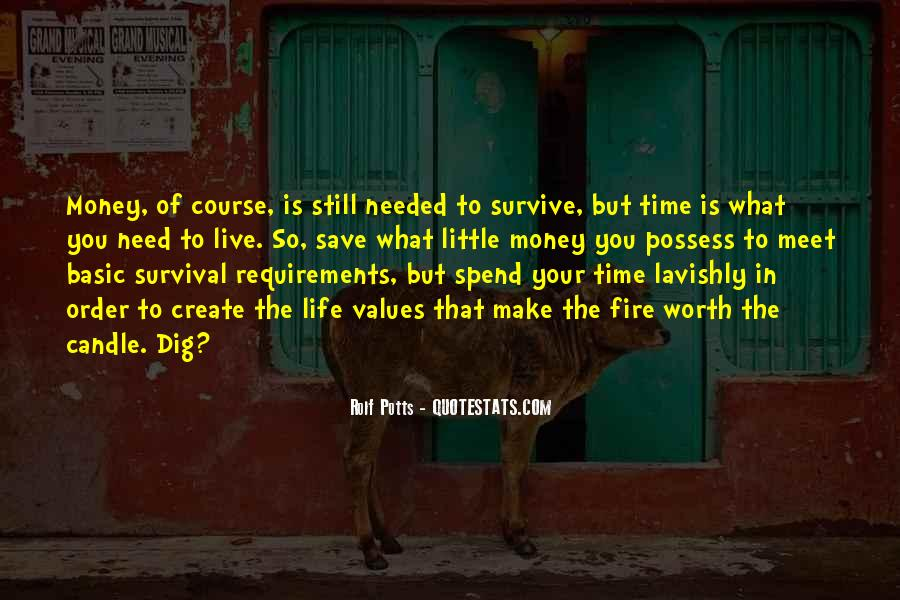 Quotes About Survival In Life #954852