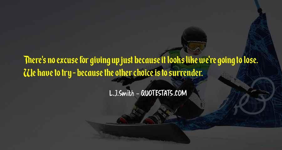 L J Smith Quotes #134921