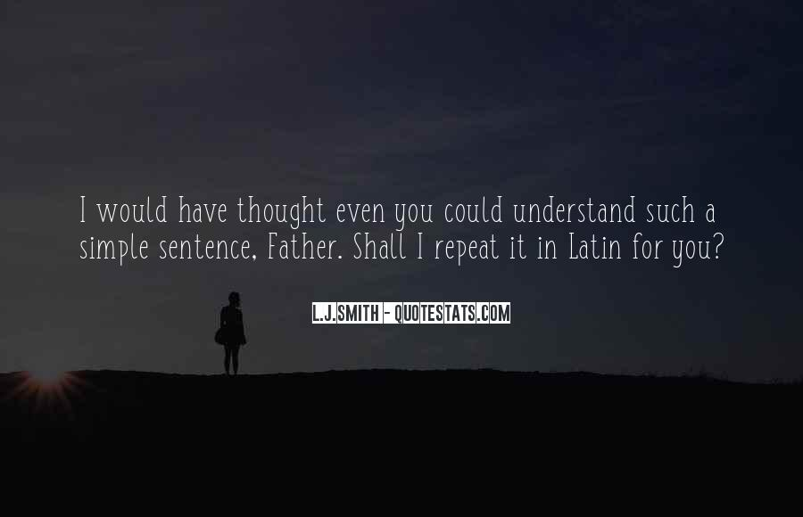 L J Smith Quotes #351282
