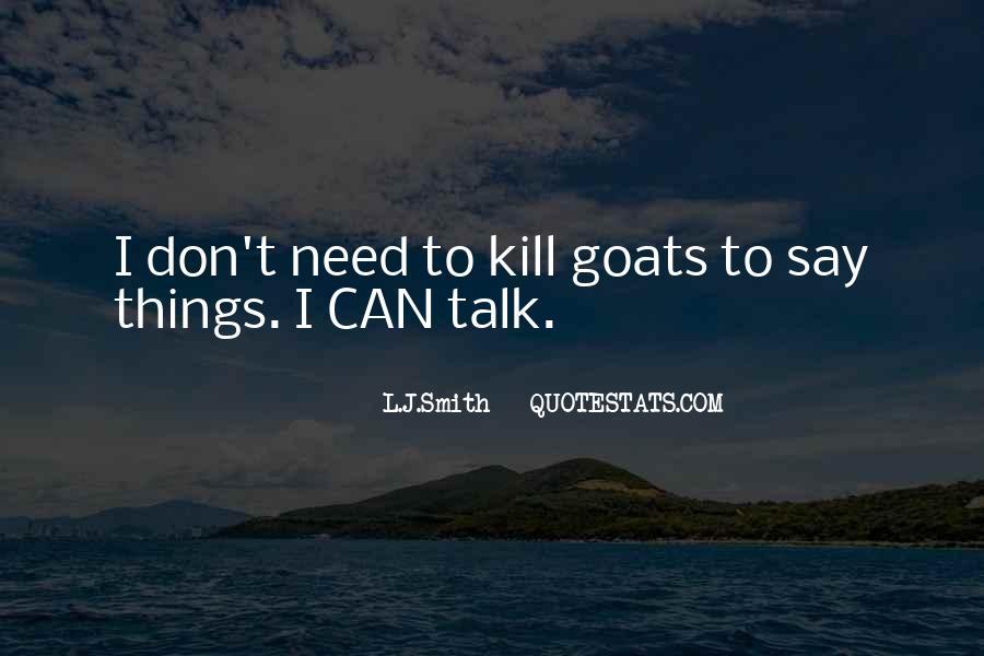 L J Smith Quotes #478348